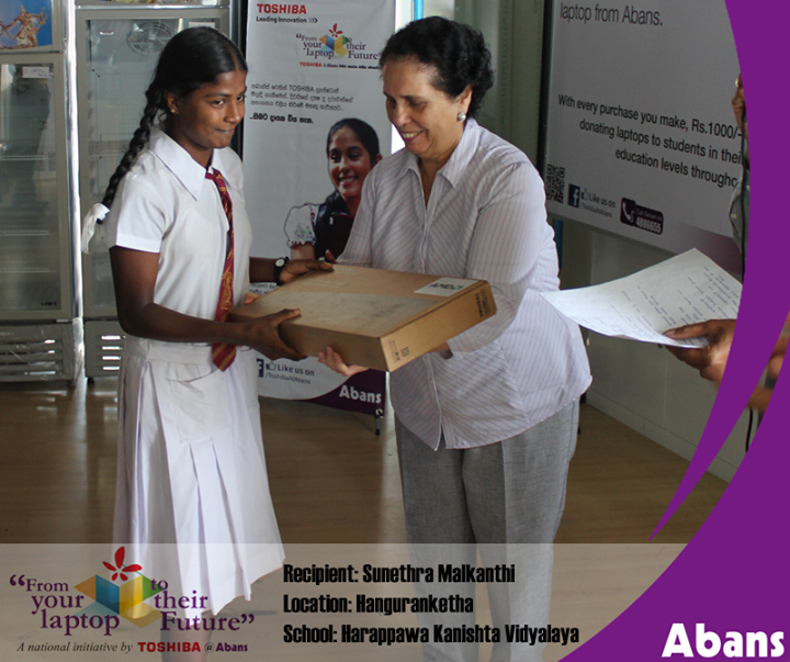 Abans Helps Deserving Students